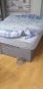 dolap ve ıkı kısılık yatak