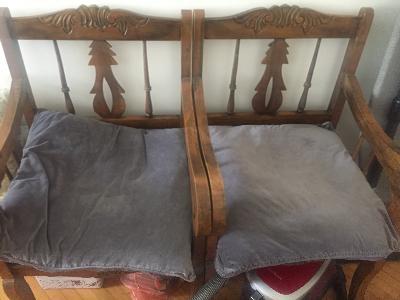 mobilya-konsol,büfe, Cd dolabı, geniş masif sandalye (2 adet)